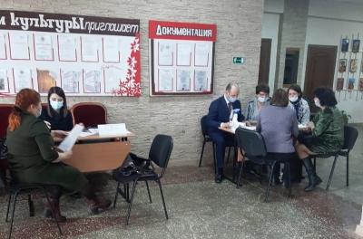 Нотариусы в составе мобильной приемной Губернатора края посетили Сухобузимский район