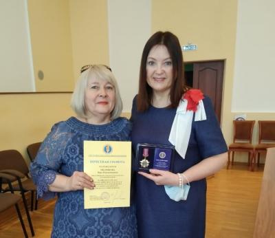 Нотариус п. Емельяново Нина Черняева отмечена Знаком отличия «За труд и пользу»