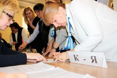 В Нотариальной палате Красноярского края прошло отчетно-выборное собрание