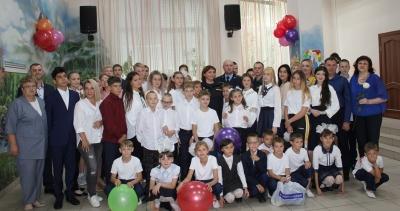 Нотариусы Красноярского края помогли школьникам в сборах к учебному году