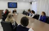 Ученицы Мариинской женской гимназии познакомились с профессией «нотариус»