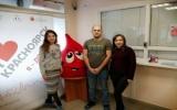 Молодые представители нотариата приняли участие в донорской акции
